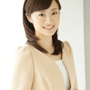 女子アナウンサー、倉見慶子さんのプロフィール撮影