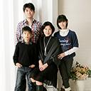 T様家族の記念撮影 2012年